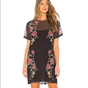 Revolve MinkPink black dress